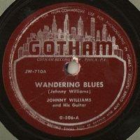 Cover Johnny Williams [John Lee Hooker] - Wandering Blues